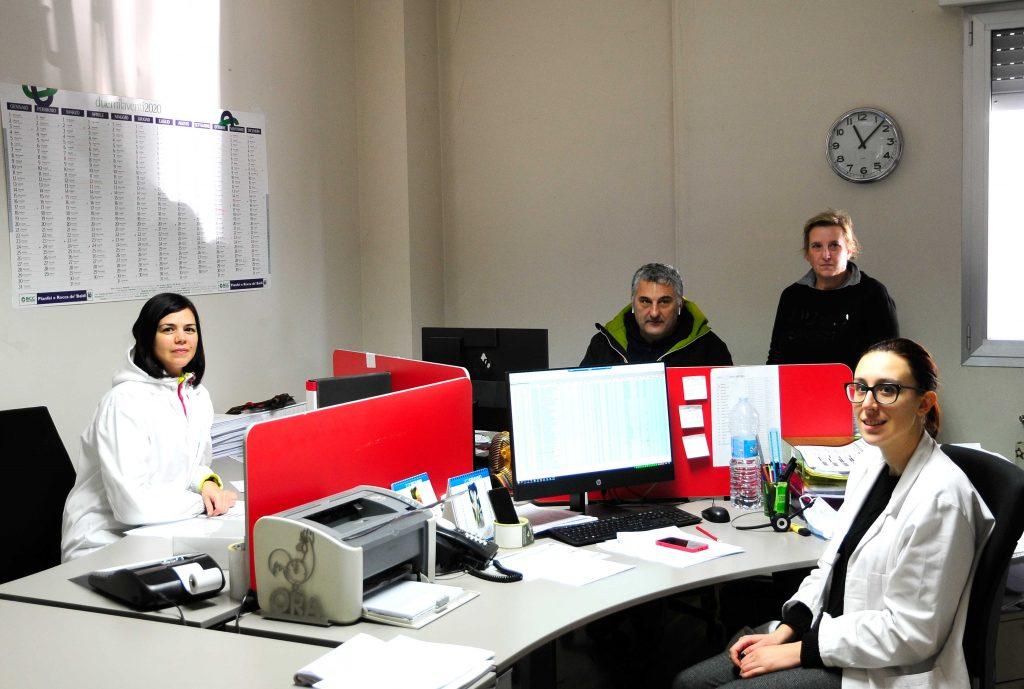 Ufficio vendite, logistica/amministrazione